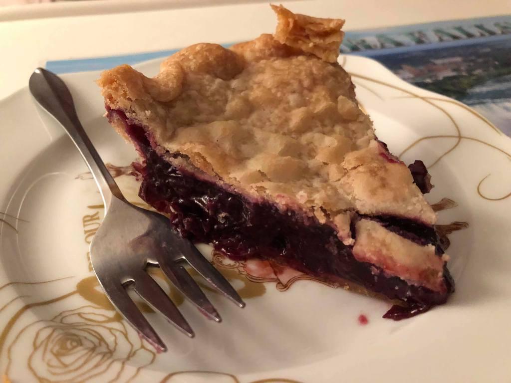 Mo-Jo's Jesus is Lord grape pie