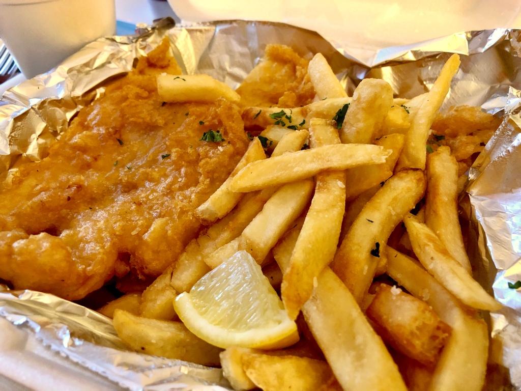 Fish Fry from The 755 Restaurant and Lounge. Niagara Falls, NY.